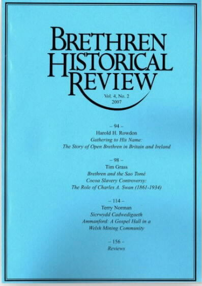 Brethren Historical Review