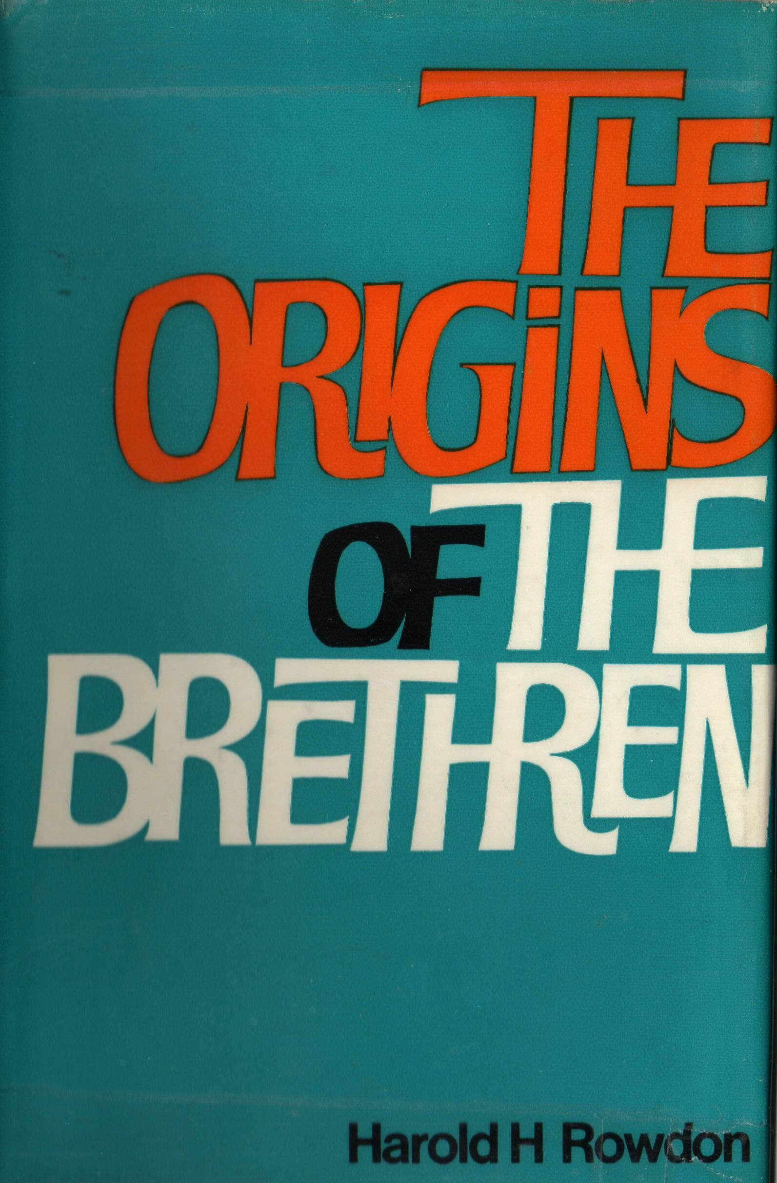 The Origins of the Brethren